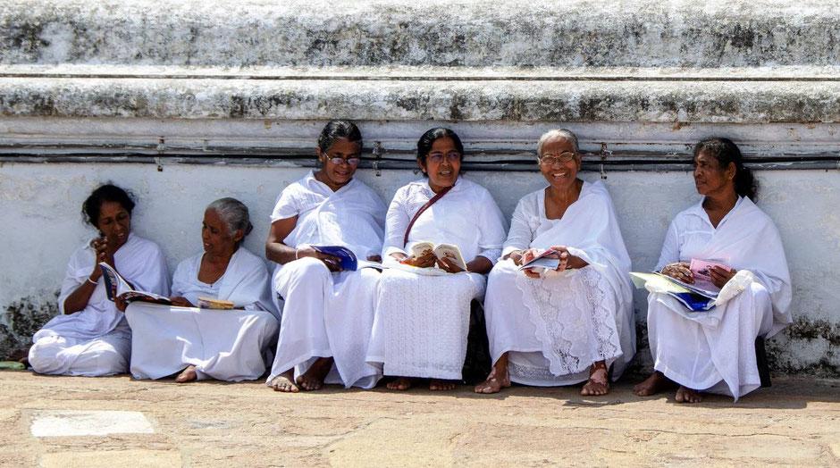 Lokale vrouwen van Sri Lanka
