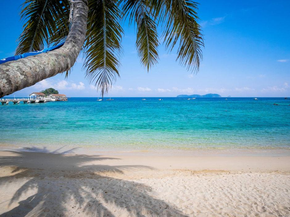 Bounty stranden van Borneo