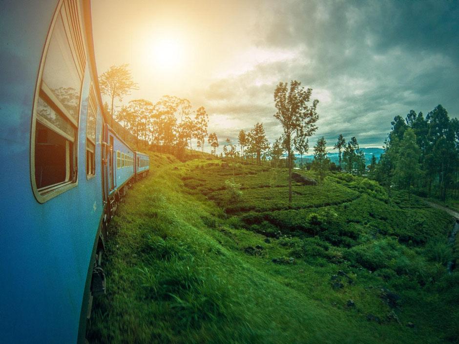 Schitterende treinreis op Sri Lanka