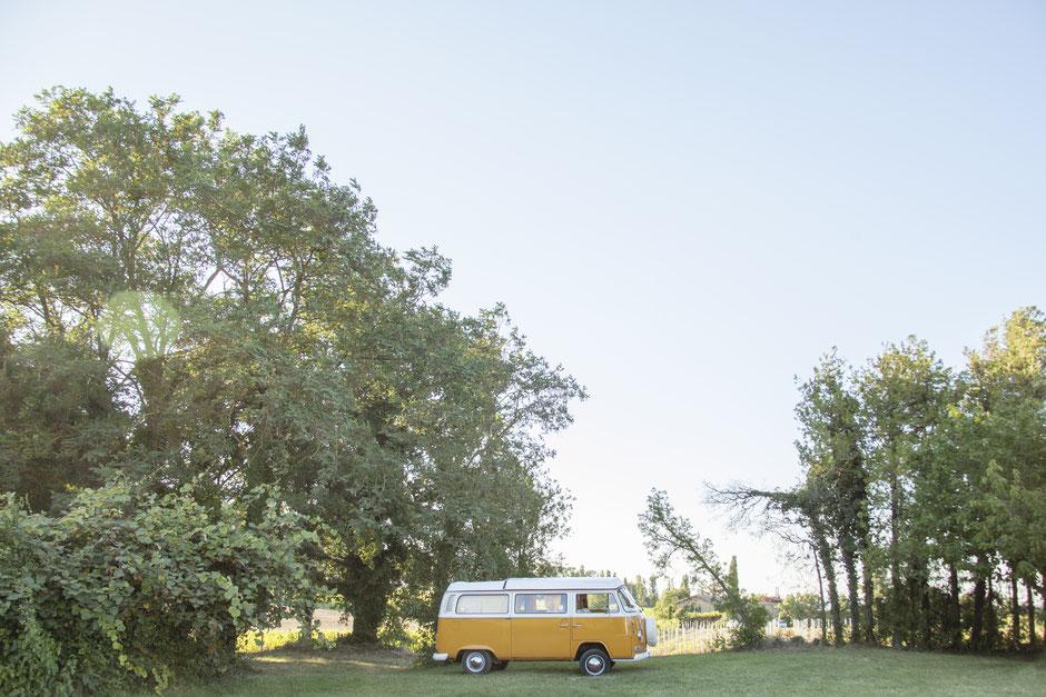 mariage hippie champêtre