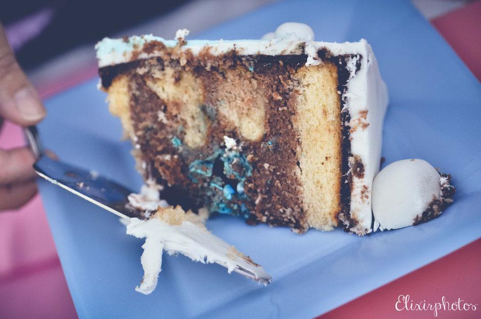 gâteau sexe bébé gender cake garçon France
