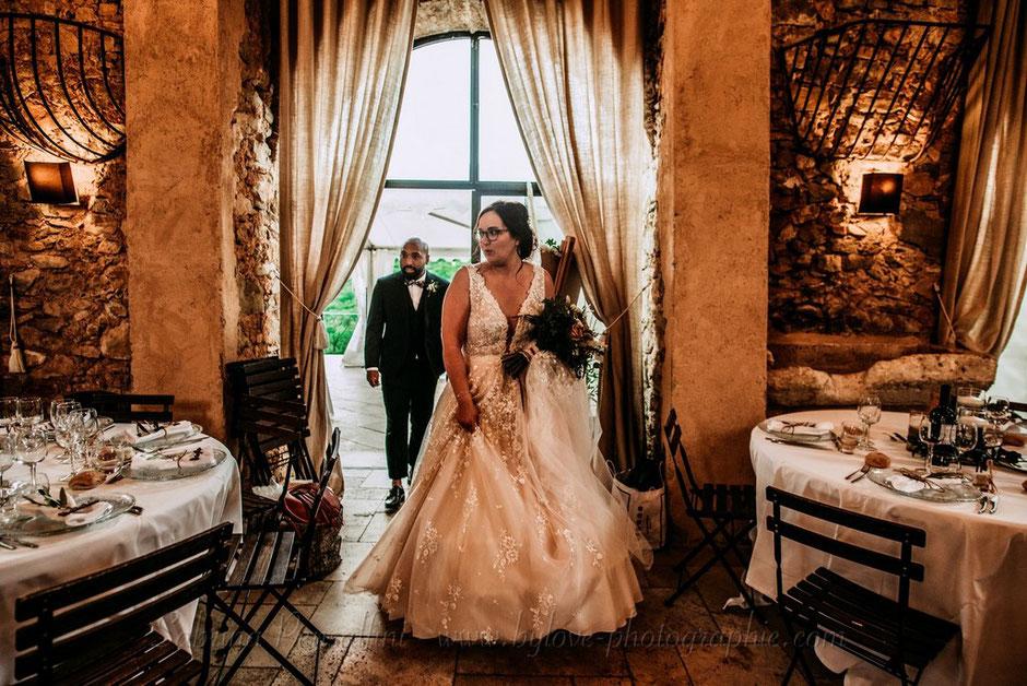 Découverte décoration salle de réception mariage