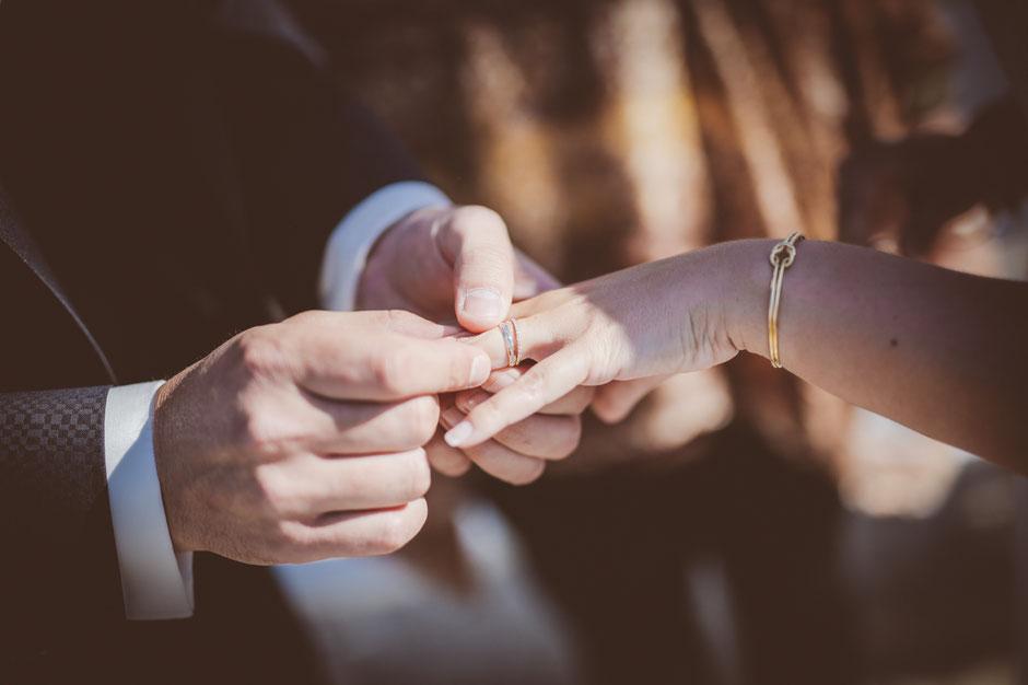 Alliances Mariage chic élégant