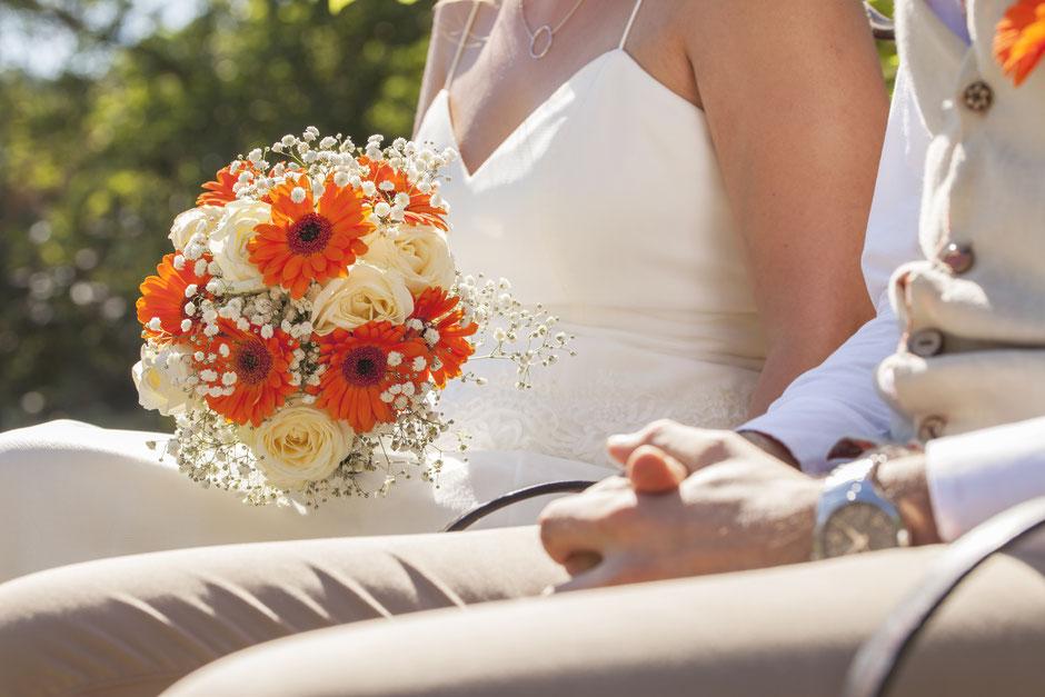 bouquet mariée mariage champêtre hippie bohème