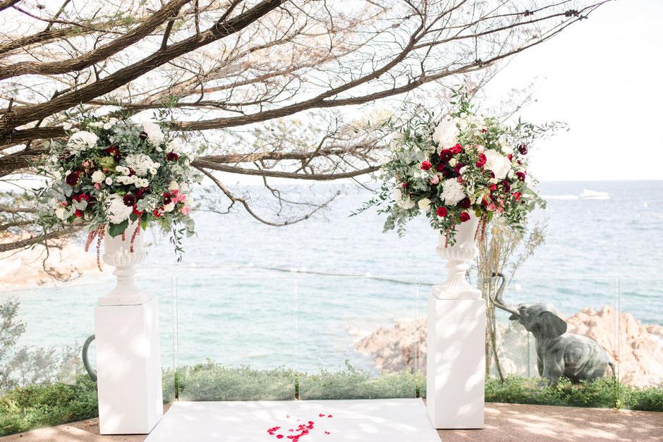 wedding designer décoratrice de mariage cote d'azur