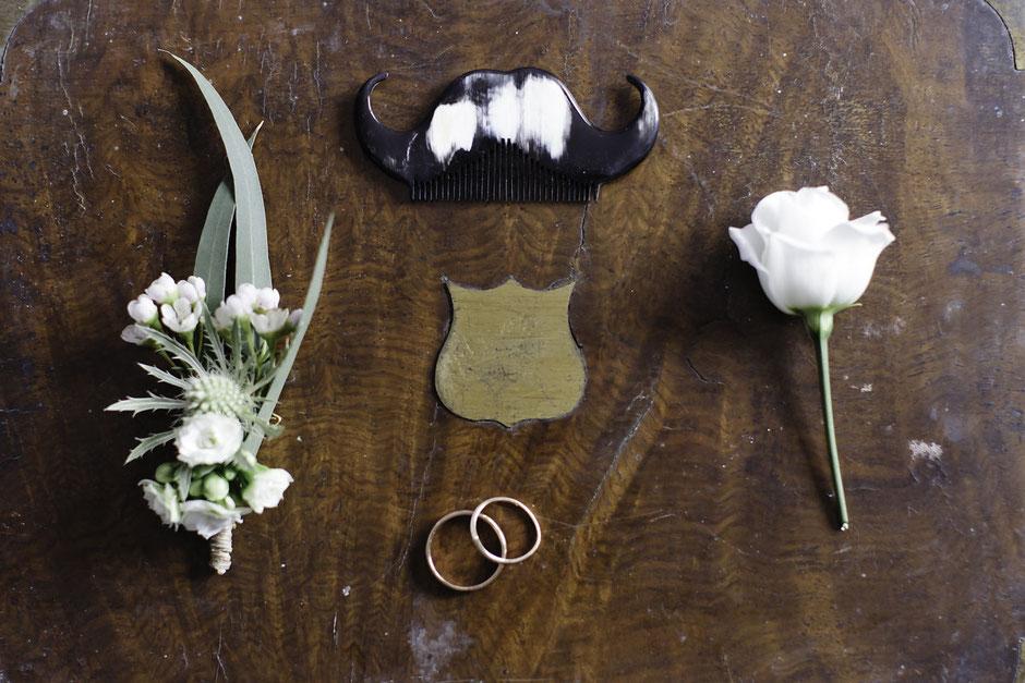 Peigne à barbe homme mariage