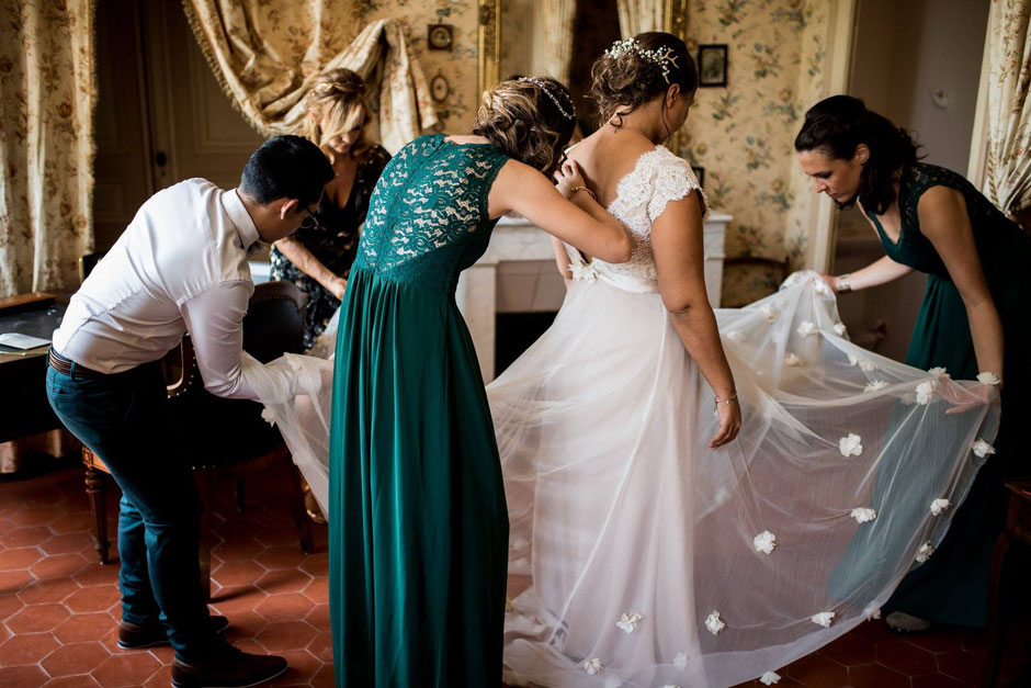 Sarah Dakhli creation robe de mariée