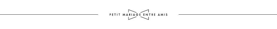 Petit Mariage Entre Amis