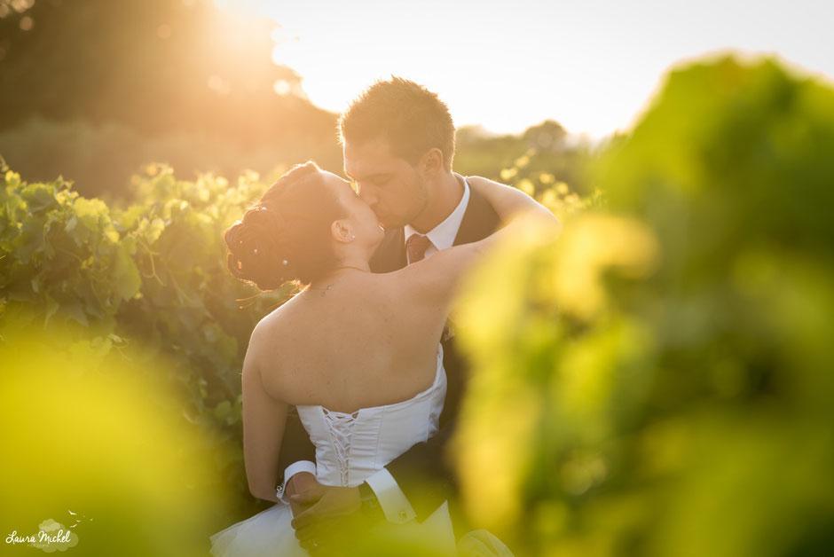 Mariage vigne vignobles Sud France