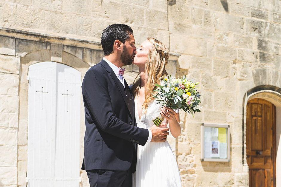 Mariage bohème chic champêtre Nîmes