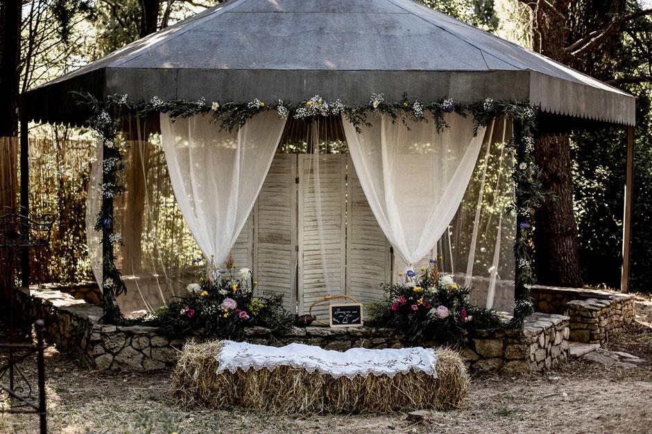 kiosque mariage