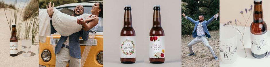 Bières cadeaux invités mariage
