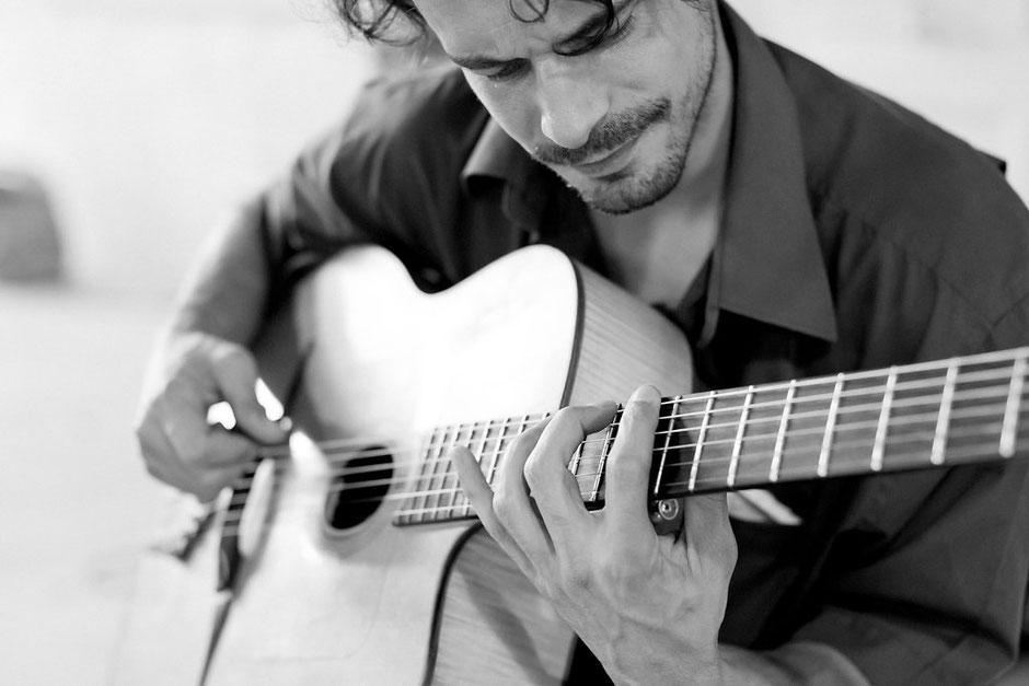 guitariste cordes nomades Montpellier Nîmes