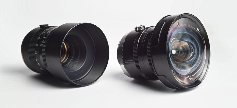 Objektive NWS Instruments 110APO und 23APO