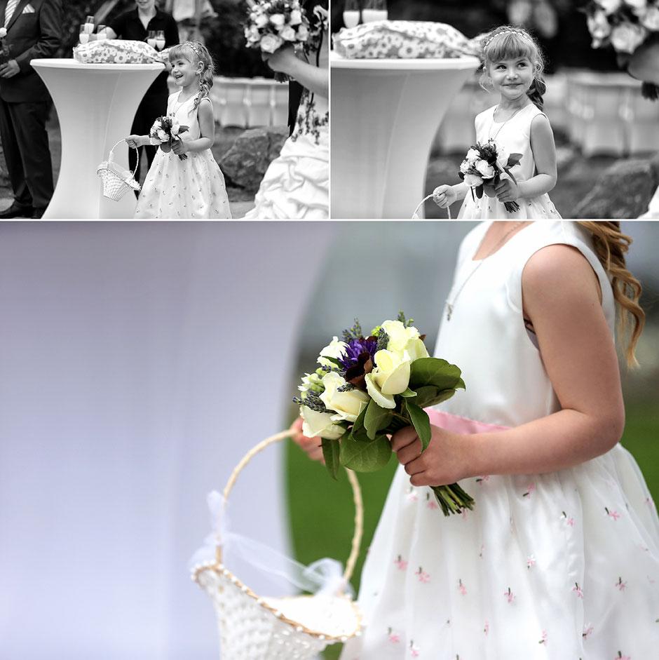 blumenkind, blumenschmuck Hochzeit, Hochzeitsfeier, Schmiedelandhaus Greifendorf