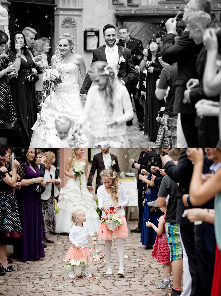 Seifenblasen Hochzeit, hochzeitsgesellschaft