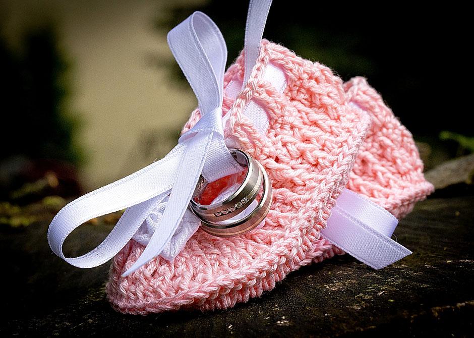 babyschuhe rosa