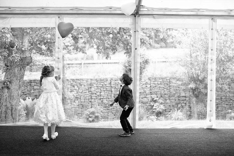 heliumluftballons Hochzeit, Schmiedelandhaus in Greifendorf