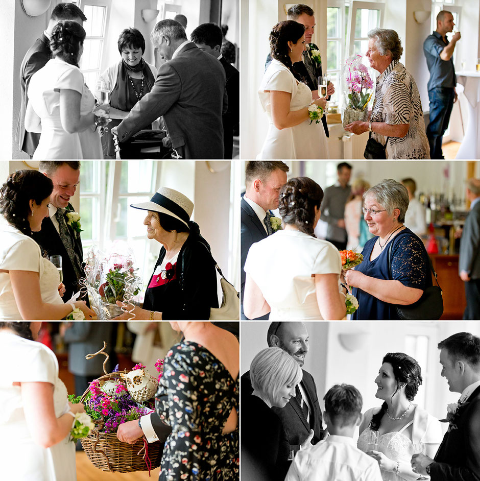 Geschenke Hochzeit, Hochzeitsgäste