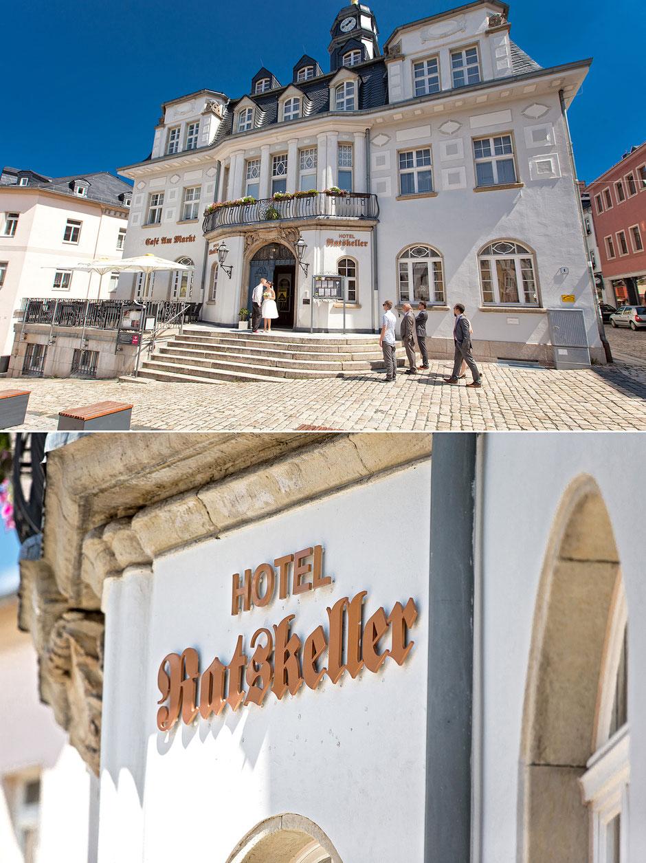 hotel ratskeller schwarzenberg, cafe am markt
