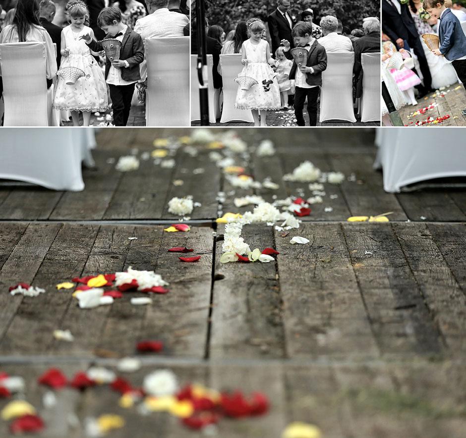 blumenkinder, blumenschmuck, Hochzeitsfeier rossau, Hochzeit hainichen