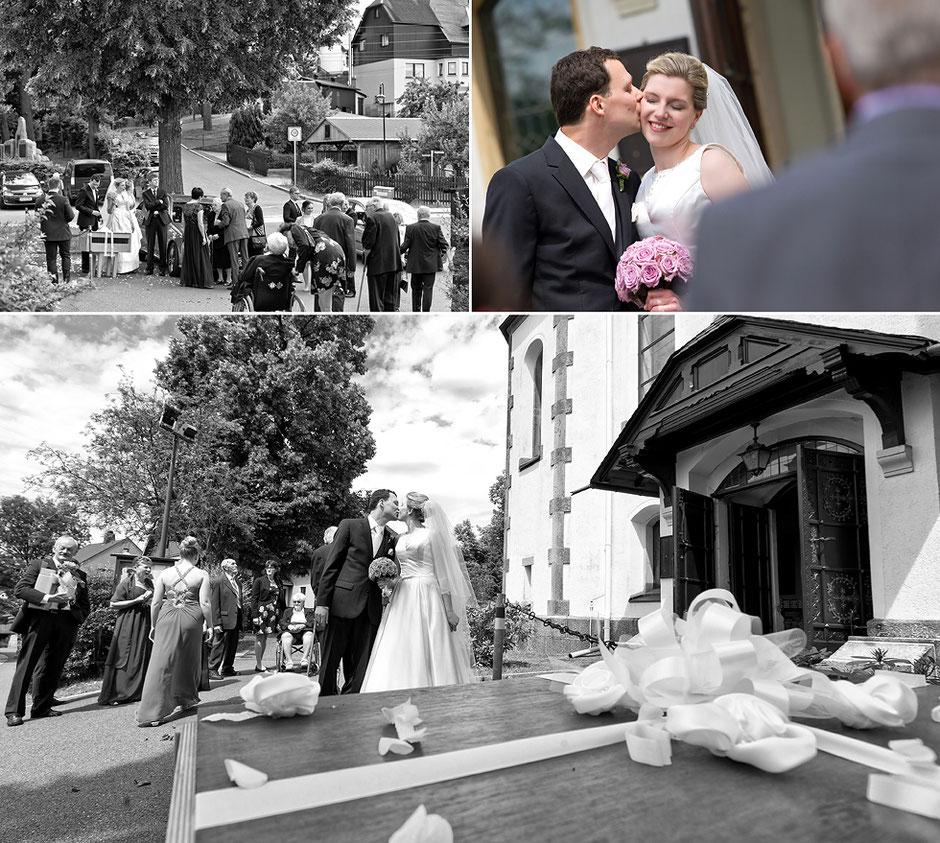 Kirche in albernau, Kirche zschorlau, Fotos Kirche, Kirche Hochzeit, hochzeitstauben