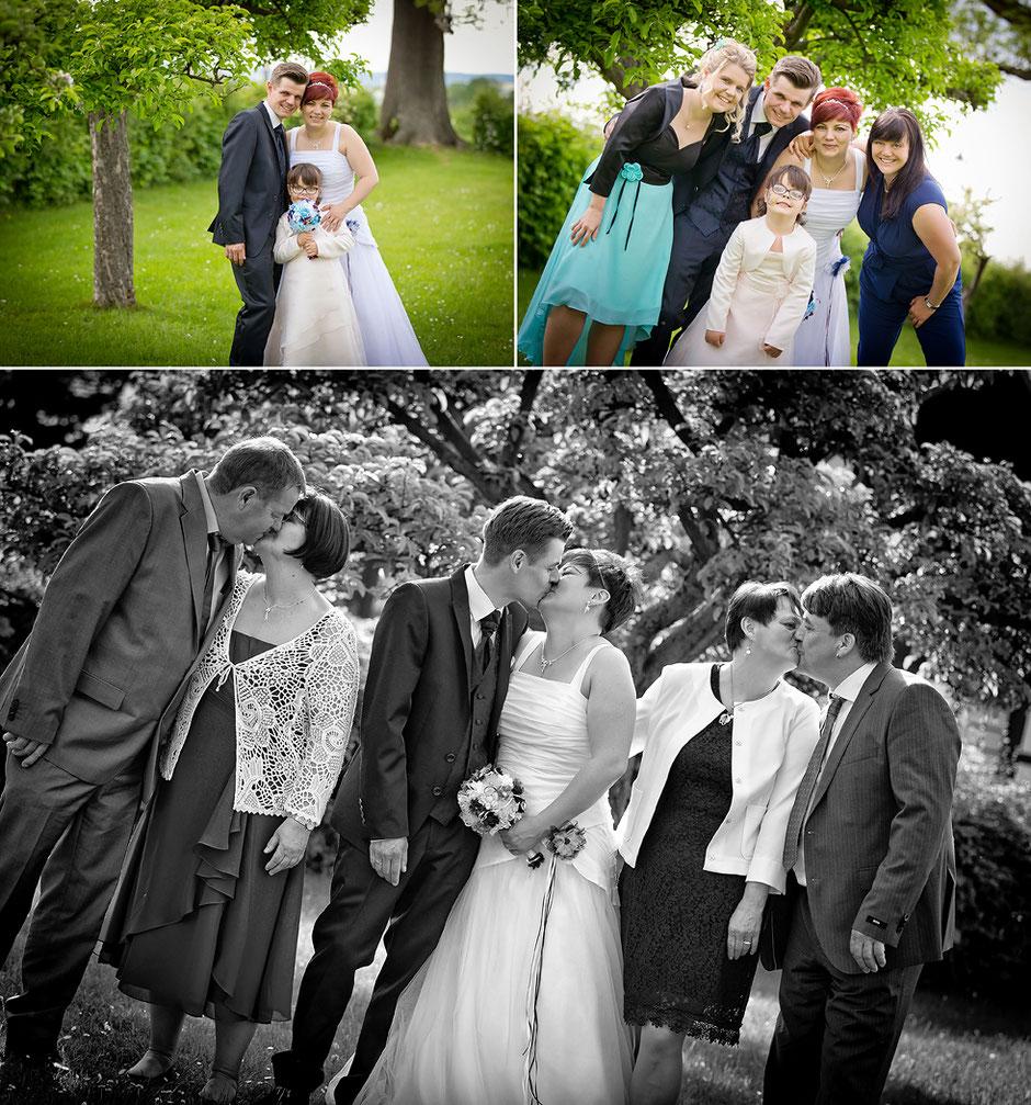 Gruppenbilder Hochzeit, Hochzeit Erzgebirge, Gasthof morgensonne jahnsdorf, jahnsdorf