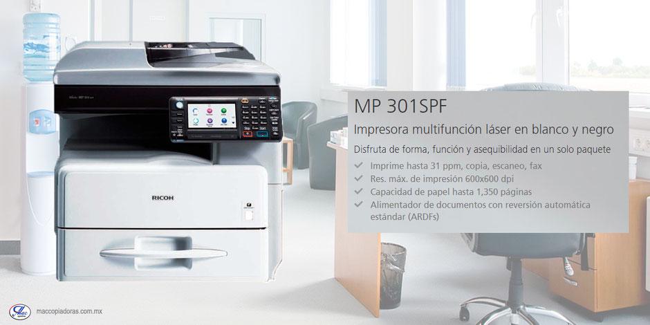 Copiadora mp 301