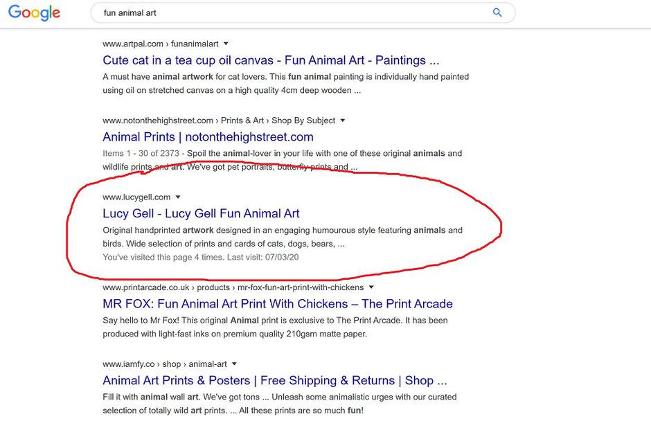 search engine optimisation seo art craft photography website