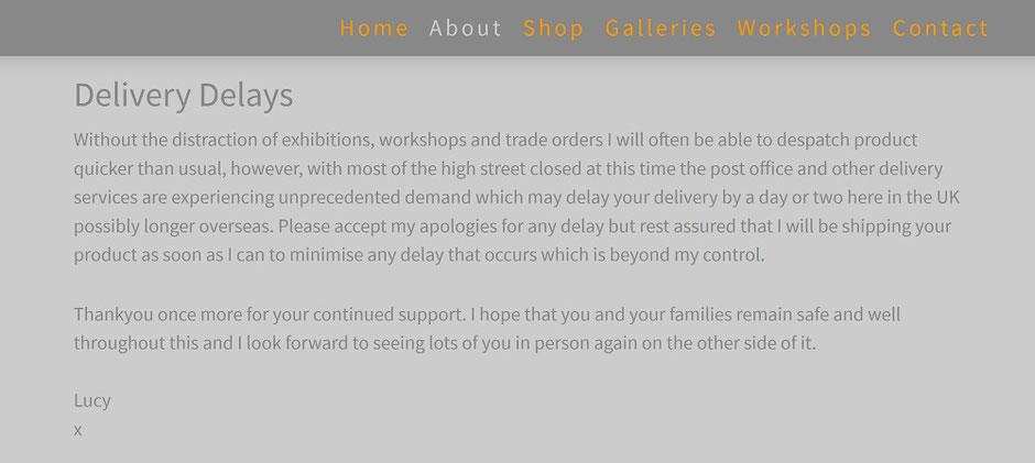 covid 19 website update