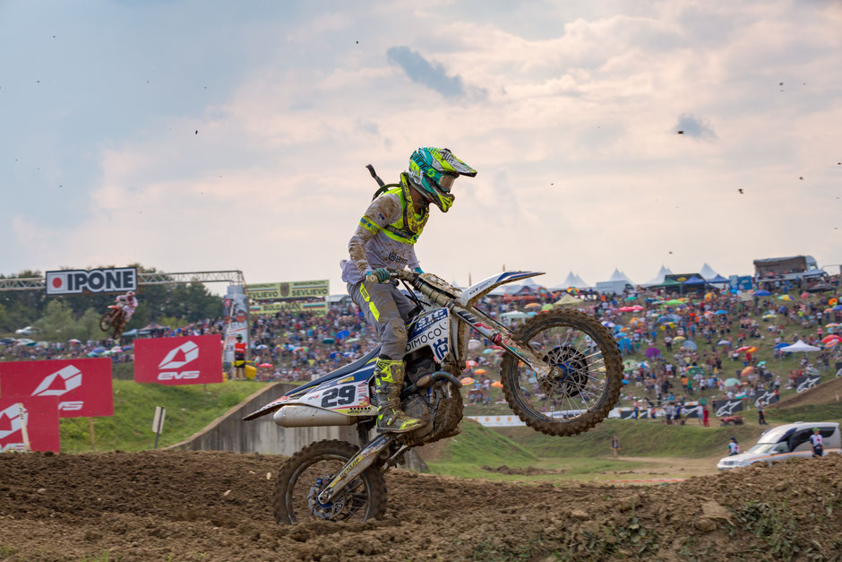 MXGP Action mit Henry Jacobi