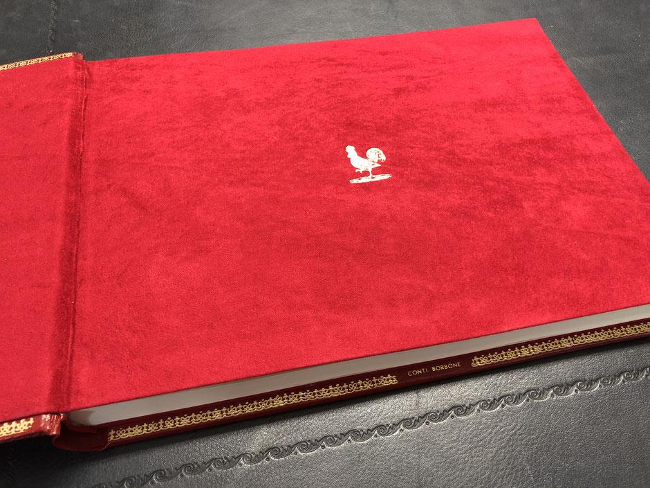 Libro ospiti in pelle by Conti Borbone