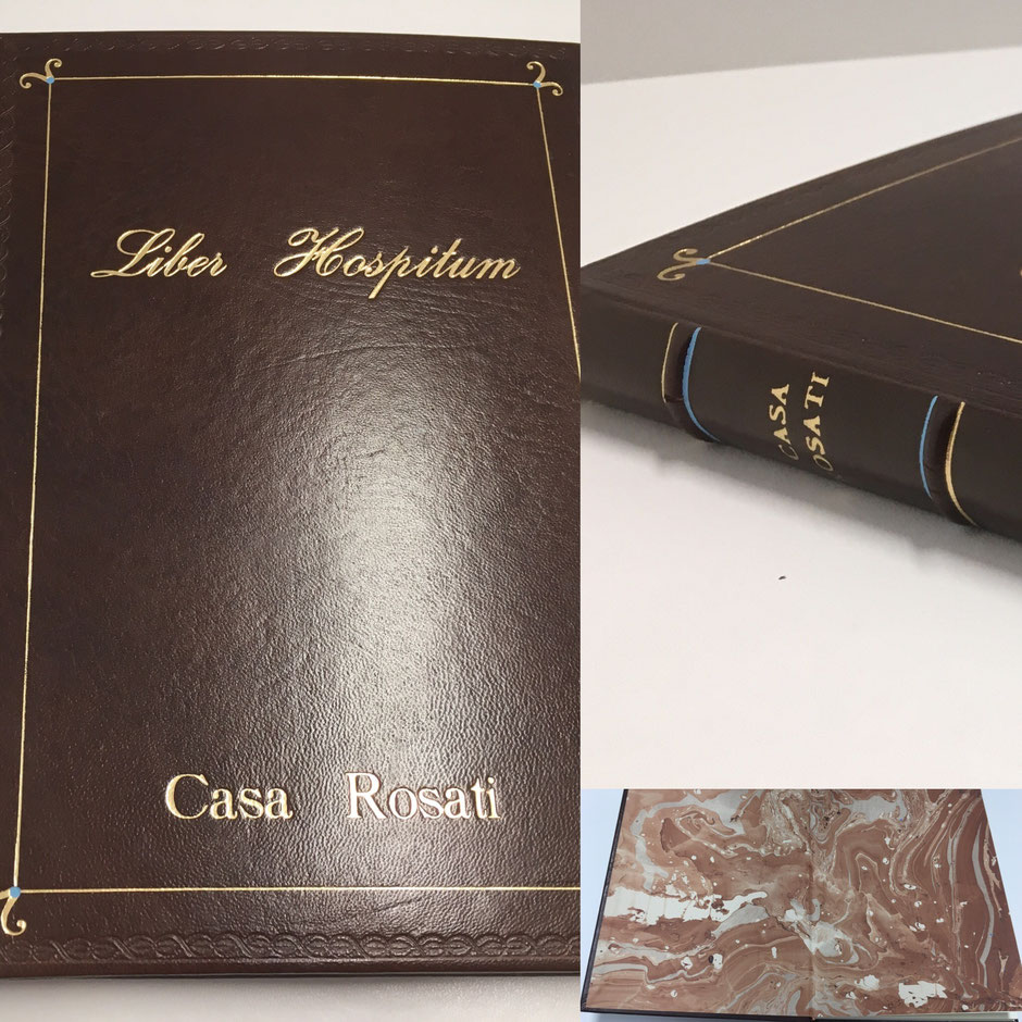 Libro, libri firma, pelle, personalizzabile, logo, stampa, oro
