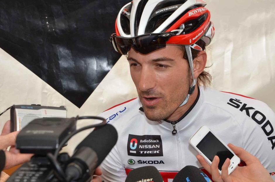 Fabian Cancellara ist ein begehrter Fahrer