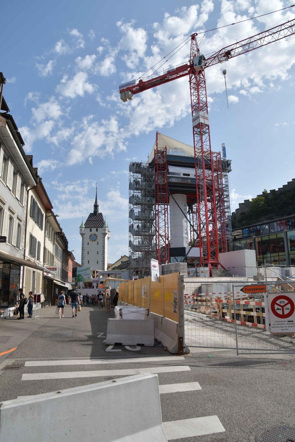 Samstag der 26. August in Baden