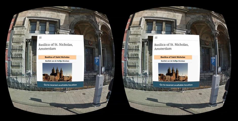 Funcionamiento gafas realidad virtual VR pantalla