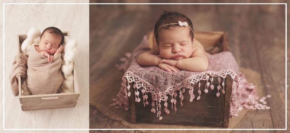 photos artistiques de nouveaux nés à perpignan
