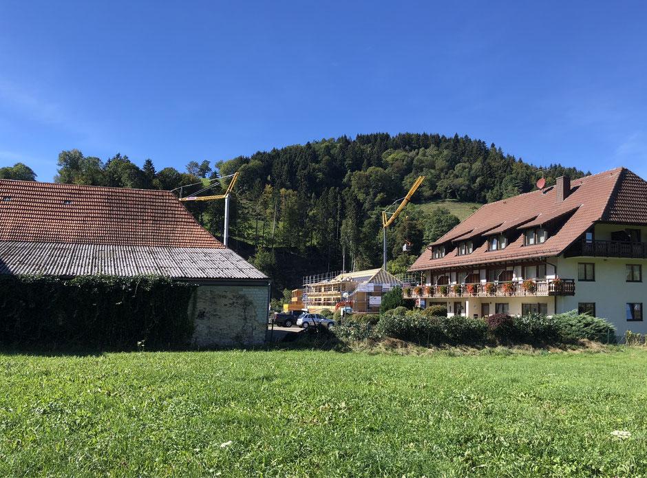Wohnbebauung Ursulinenhof Oberried Freiburg Schwarzwald storz.architektur Holz