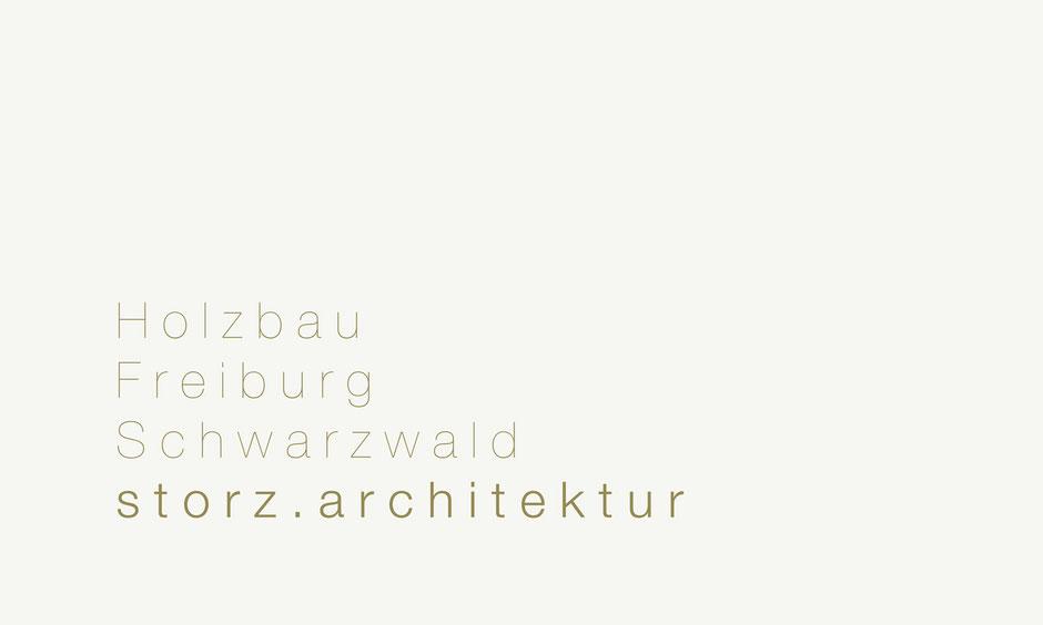 storz.architektur Freiburg Schwarzwald Holzbau
