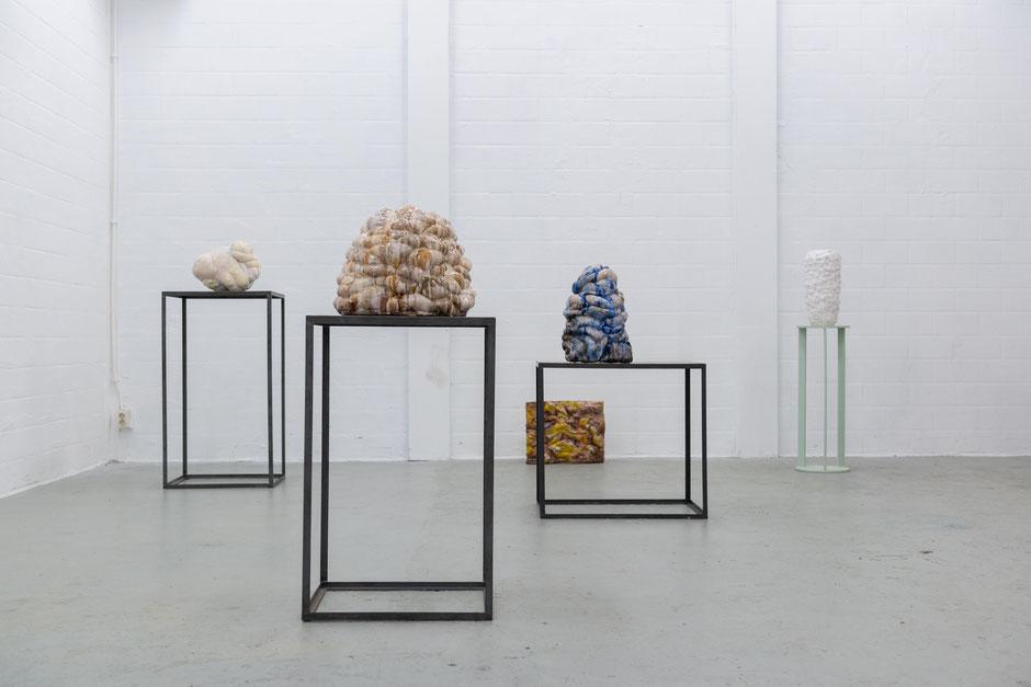 Solo exhibition, CONTORT YOURSELF, 2019, De Bouwput, Amsterdam.
