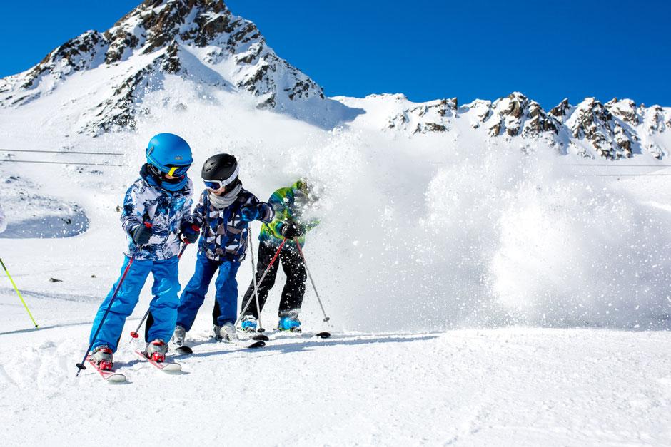 Abenteuer, Urlaub, Kitzbüheler Alpen, Vater und Sohn, Ski Fahren, Familienurlaub,, Berge