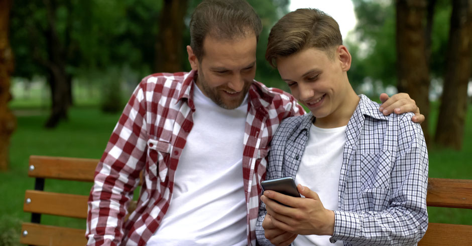 """BoysUp - """"Whats App Support"""" - schnelle Lösungen durch direkte Erreichbarkeit  während der gesamten Dauer der Beratung"""