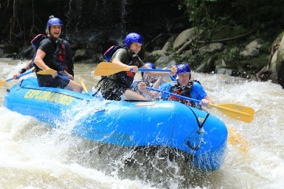 Aktivprogramm in der Costa Rica Abenteuer Rundreise für Vater und Sohn