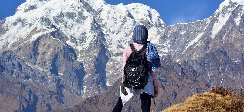 Trekkingtour im Himalaya