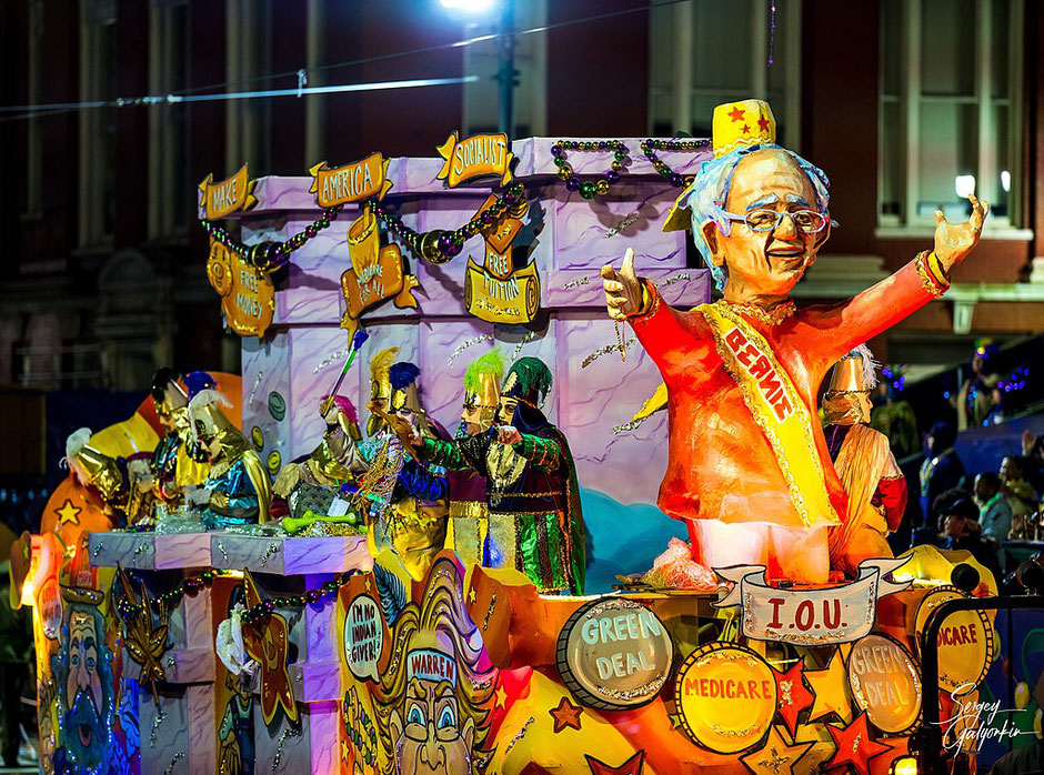 The Krewe d'Etat parade, February 21, 2020 (Sergey Galyonkin, source Wikicommons)