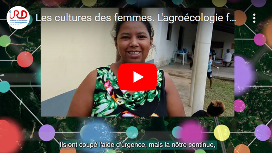 """Women's crops. Agroecology faced with the pandemic in Brazil, a video made for the project """"Vulnerability and resilience of agroecological women farmers in the midst of the Covid pandemic""""."""