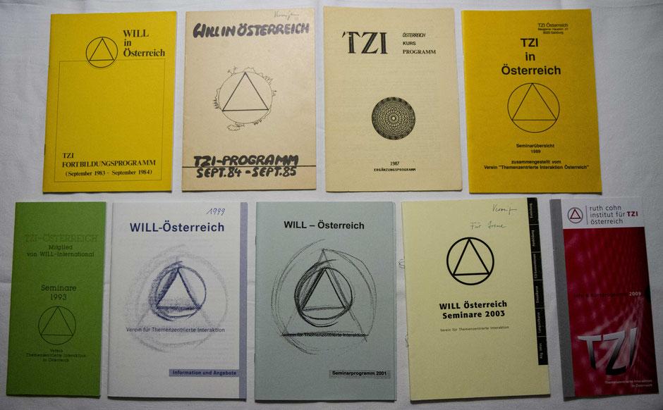 Das österreichische Seminarverzeichnis von 1983 bis 2009