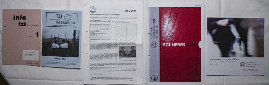 Der Wandel des TZI-Infos des RCI Österreich von 1988 bis 2016