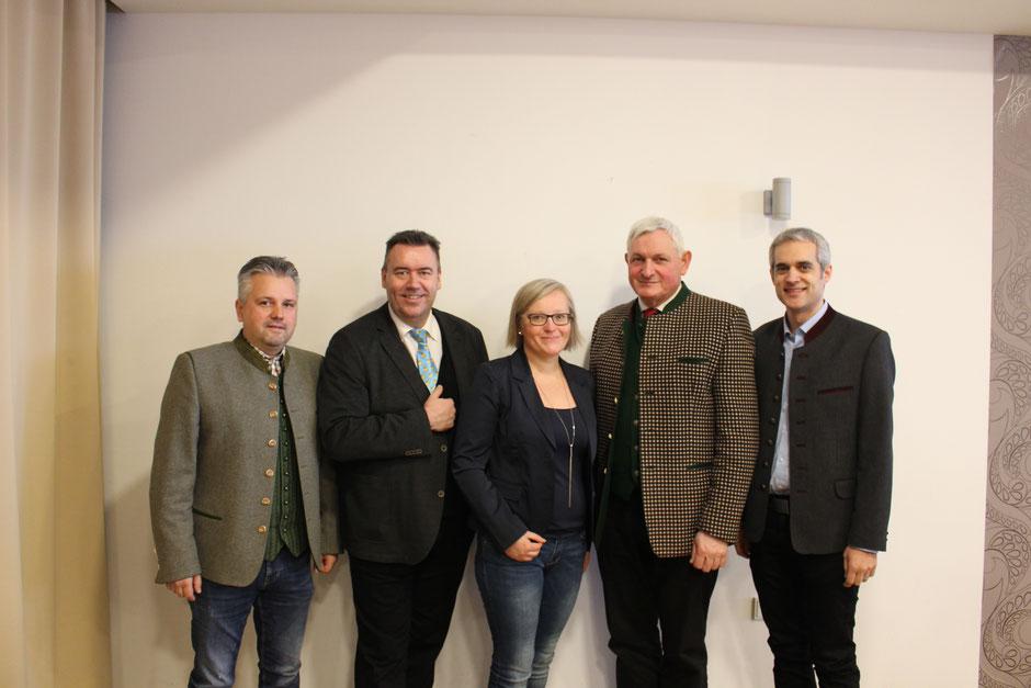 Vorstand: Stefan Prenner, Daniela Pfeffer und Martin Auerböck übernehmen ab jetzt die organisatorische Leitung der Stadtkapelle Friedberg.