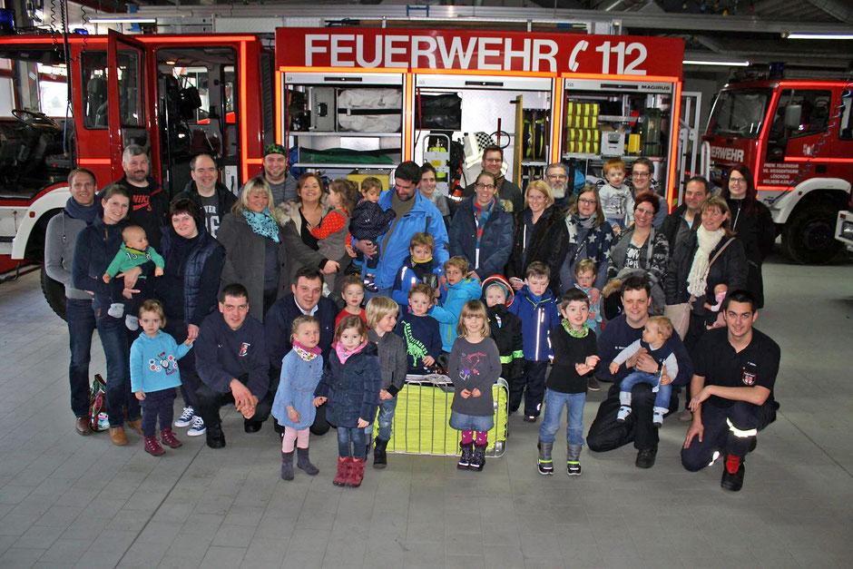 Die Jungen Familien bei der Freiwilligen Feuerwehr Mülheim-Kärlich